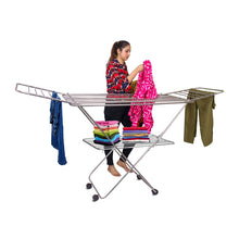 Load image into Gallery viewer, PARASNATH Prime Stainless Steel Butterfly Extra Large Foldable Cloth Dryer/Clothes Drying Stand - Made in India - PARASNATH