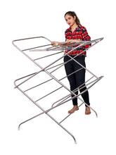 Load image into Gallery viewer, PARASNATH Stainless Steel 15 Rods Extra Large Foldable Clothes Drying Stand - PARASNATH MADE IN INDIA