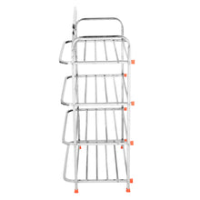Load image into Gallery viewer, Parasnath 4 Layer Stainless Steel Shoes Stand Rack - PARASNATH MADE IN INDIA