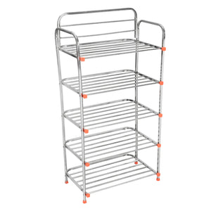 Parasnath 5 Layer Stainless Steel Shoes Stand Rack - PARASNATH