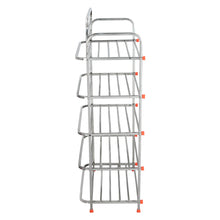 Load image into Gallery viewer, Parasnath 5 Layer Stainless Steel Shoes Stand Rack - PARASNATH MADE IN INDIA