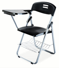 Load image into Gallery viewer, Parasnath Superb-Chair Folding Student Writing Pad Chair in Black - PARASNATH