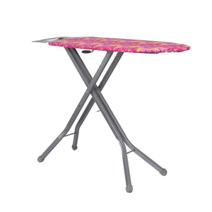 Parasnath Sunflower Steel Folding Ironing Board and Aluminised Surface - Made in India - PARASNATH MADE IN INDIA
