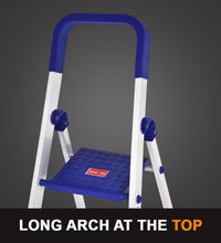 Load image into Gallery viewer, PARASNATH Aluminium Blue Heavy Folding Maple Ladder 7 Step 7.3 Ft - PARASNATH