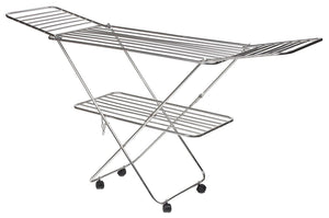 PARASNATH Prime Stainless Steel Butterfly Extra Large Foldable Cloth Dryer/Clothes Drying Stand - Made in India - PARASNATH