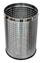 Load image into Gallery viewer, Parasnath Stainless Steel Perforated Square Dustbin, 11L - 10 X 15 Inch - PARASNATH MADE IN INDIA