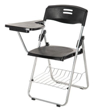 Load image into Gallery viewer, Parasnath Superb-Chair Folding Student Writing Pad Chair in Black - PARASNATH MADE IN INDIA