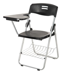 Parasnath Superb-Chair Folding Student Writing Pad Chair in Black - PARASNATH