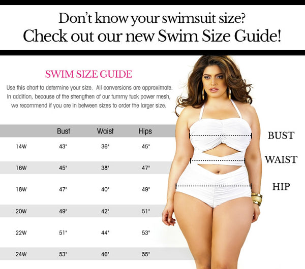 Sizing Guide Pop Up Plus