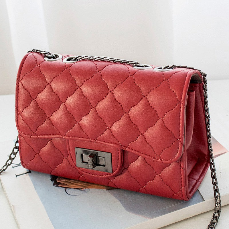 Embossed Shoulder Bag