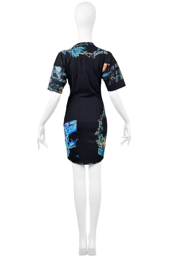 BALENCIAGA BY GHESQUIERE SCUBA DRESS 2003