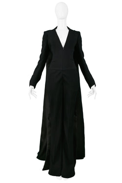 BERARDI BLACK JUMPSUIT WITH TRAIN 2013