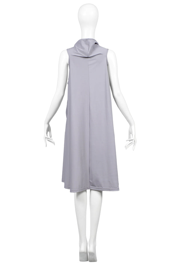 CDG GREY PADDED GLOVE DRESS 2007