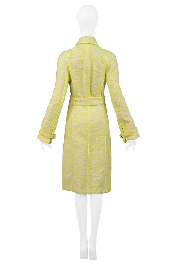 YELLOW BELTED COAT 2004