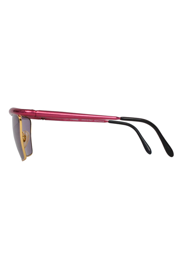 FERRE METALLIC PINK SUNGLASSES