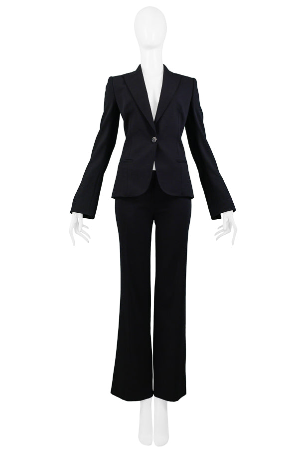 FERRE CLASSIC BLACK TAILORED SUIT