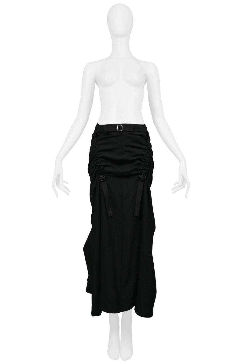 JUNYA BLACK PARACHUTE SKIRT 2003