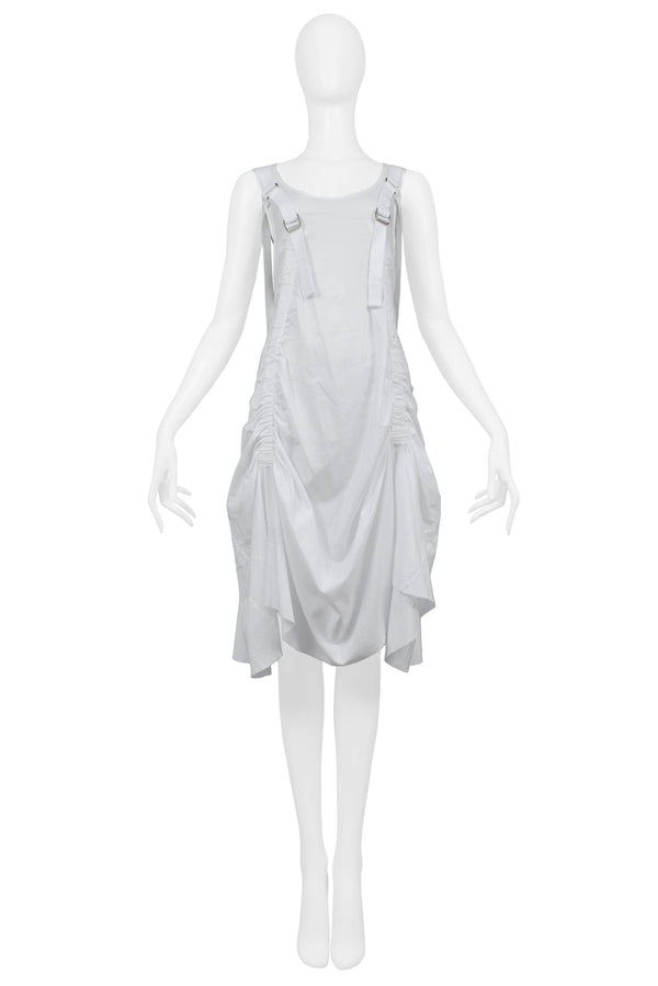 JUNYA WHITE PARACHUTE BACKPACK DRESS 2003