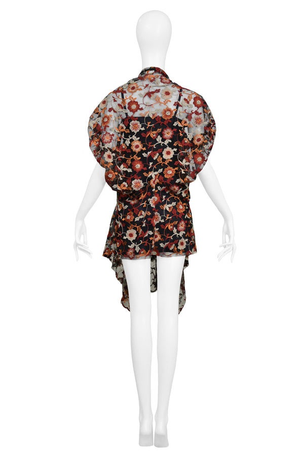 JUNYA ROMANTIC LACE TUNIC TOP 2011