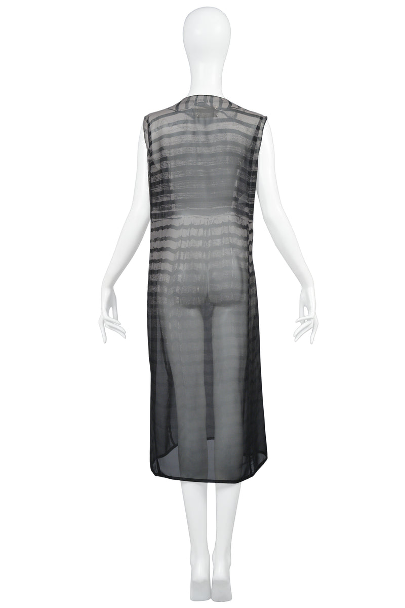 MARGIELA TROMPE DRESS PHOTO PRINT DRESS 1996