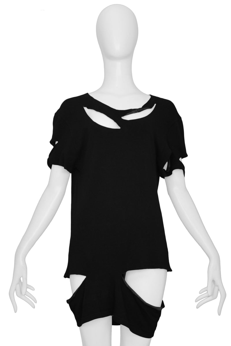 MARGIELA BLACK SLASH TOP 2007