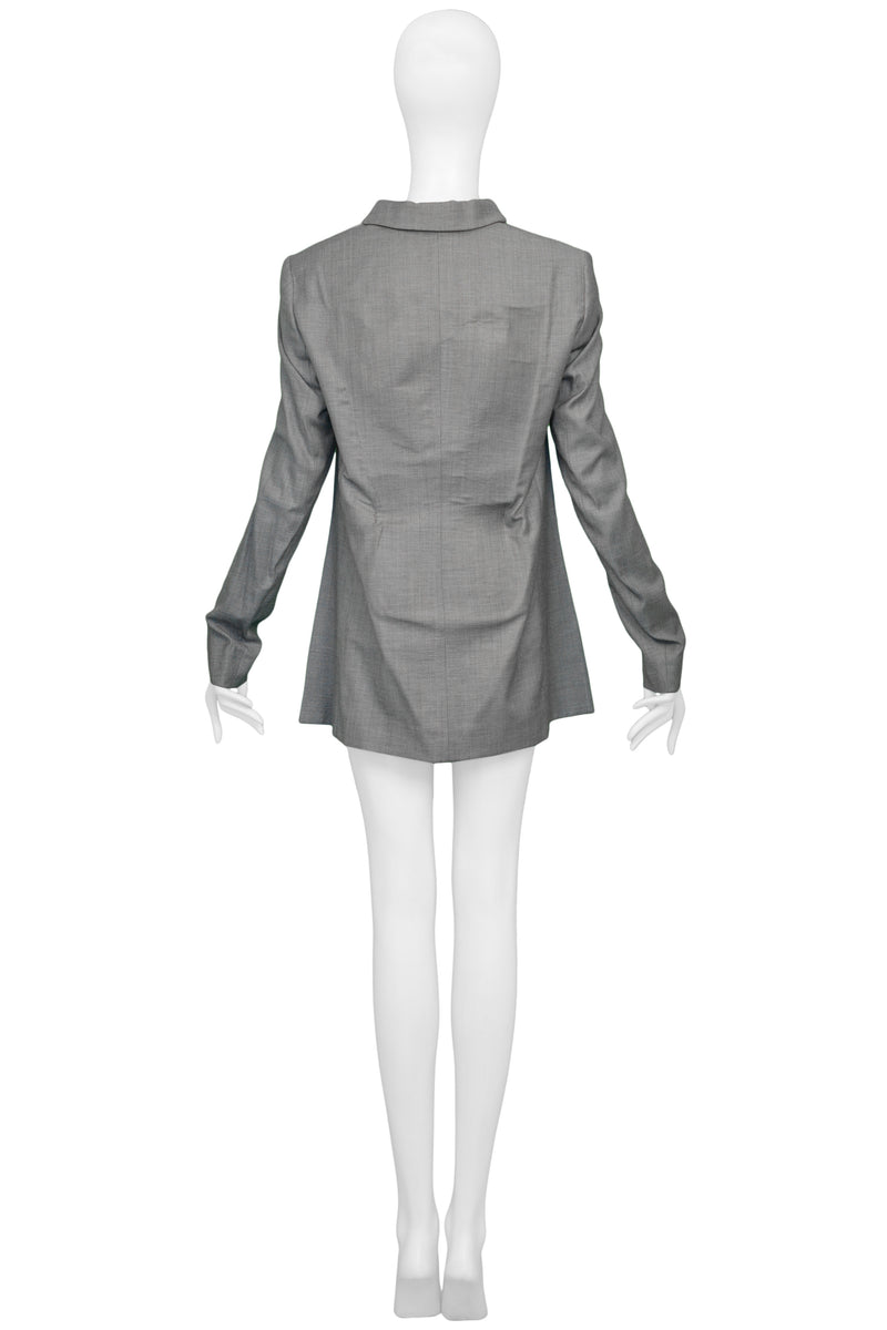 MARGIELA GREY DECONSTRUCTED BLAZER