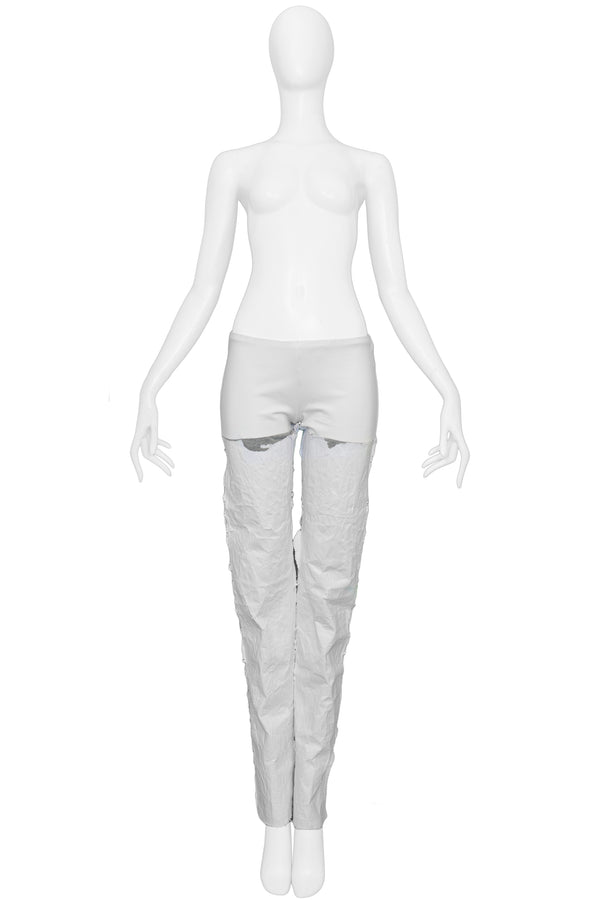 MARGIELA WHITE PAPER PANTS