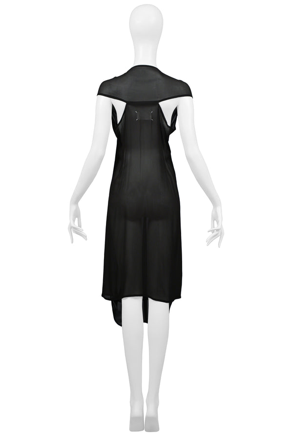MARGIELA CHIFFON CAR SEAT COLLECTION DRESS 2006