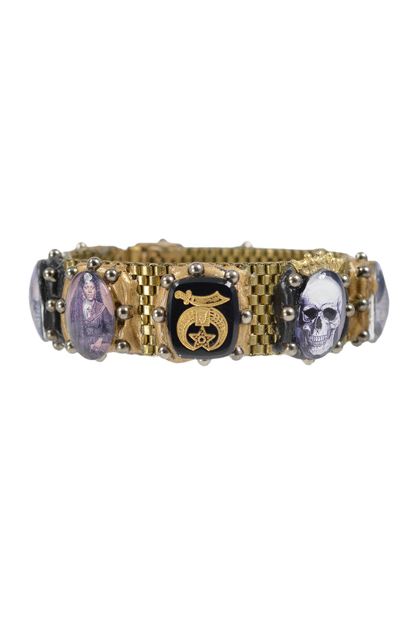 MINADEO GHOUL & SKELETON BRACELET