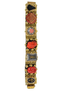 MINADEO RED BUDDHA & DRAGON BRACELET