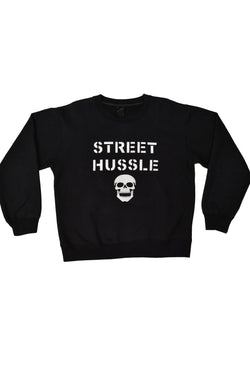 "NUMBER NINE ""STREET HUSSLE"" SWEATSHIRT"
