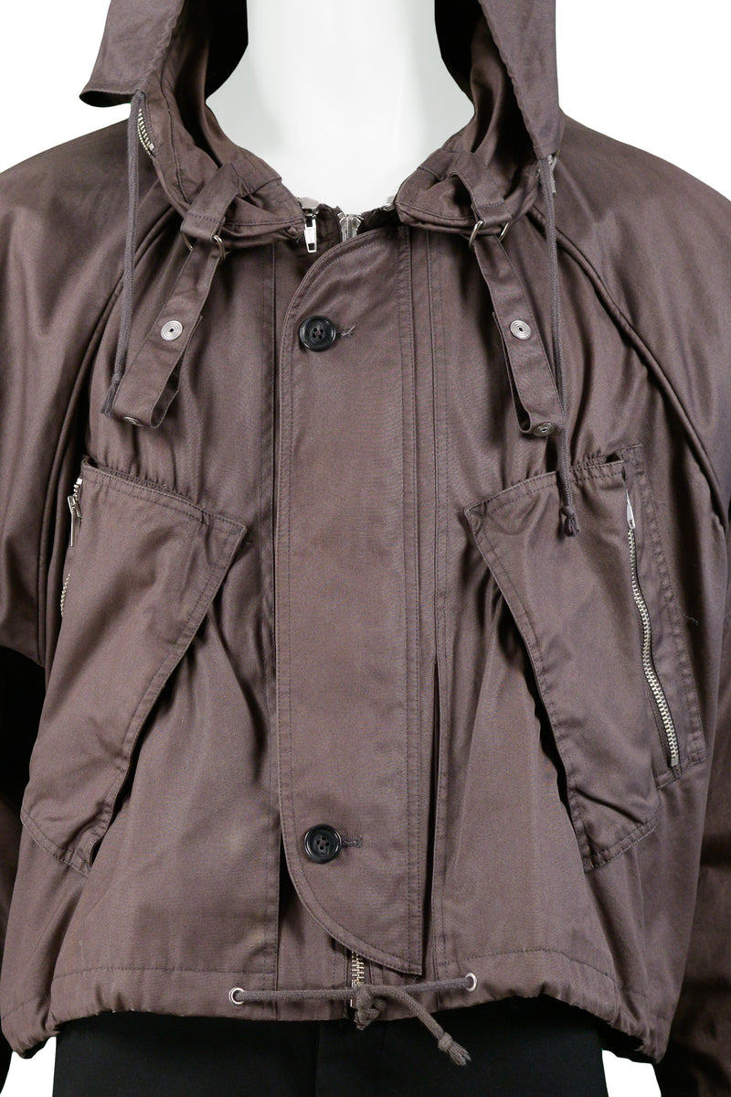 RAF BROWN MINI PARACHUTE JACKET 2006