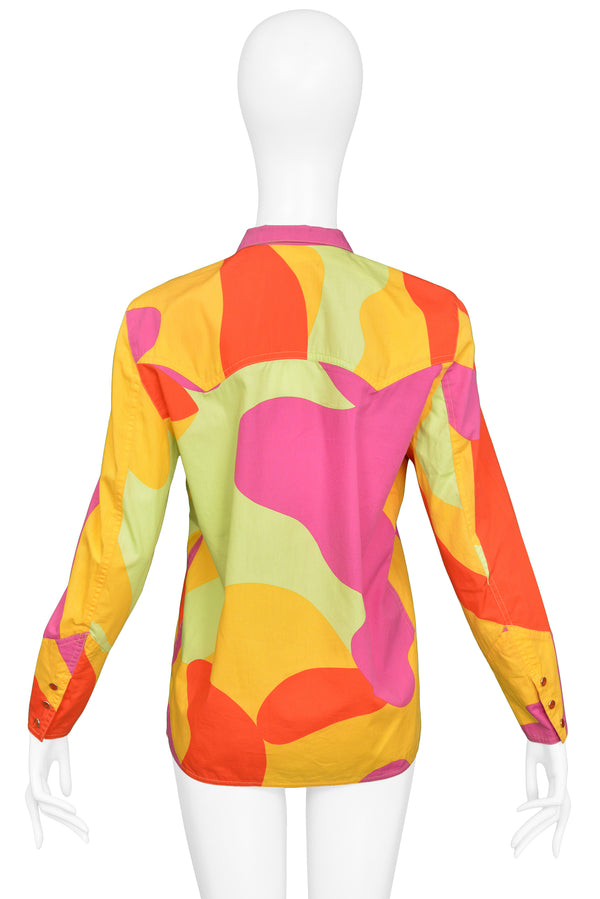 SPROUSE NEON CAMO COTTON TOP