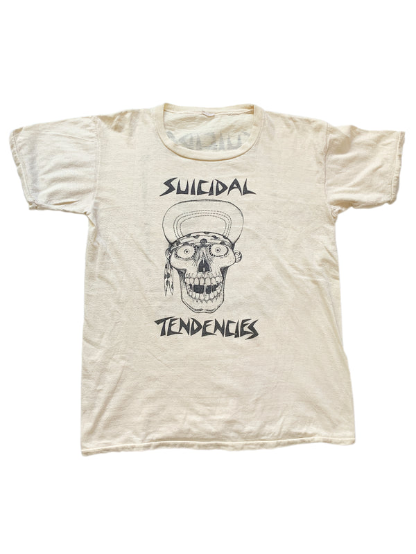 VINTAGE SUICIDAL TENDENCIES SKATE T-SHIRT 1980s