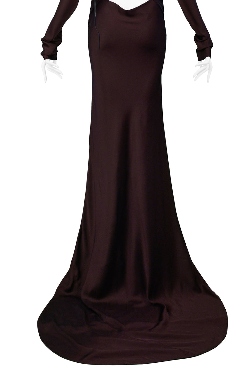 GUCCI BY TOM FORD ICONIC GOTHIC GOWN 2002