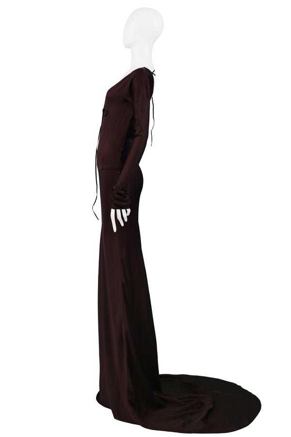 GUCCI 2002 GOTHIC GOWN