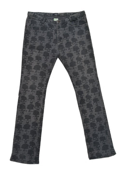UNDERCOVER BY JUN TAKAHASHI GREY SKULL PANTS 2001
