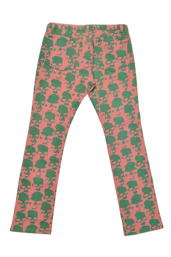 UNDERCOVER BY JUN TAKAHASHI PINK SKULL PANTS 2001