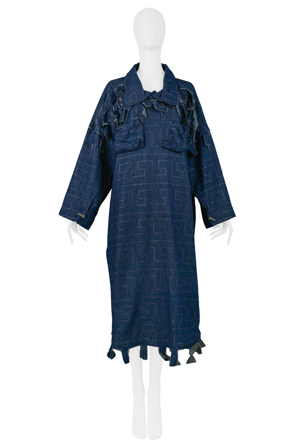 WESTWOOD DENIM CLINT EASTWOOD DRESS 1984-85