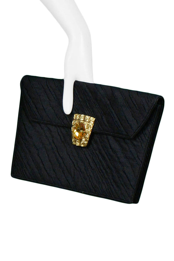 YSL SKIRT & CLUTCH SET