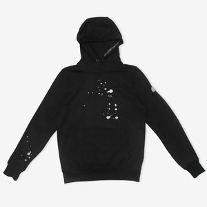 HALF LOGO EMBROIDERED HOODIE