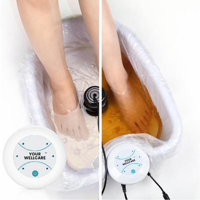 Ionic Detox Foot Spa Before & After