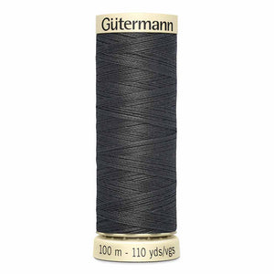 Fil Polyester GÜTERMANN 100m - #125 - Anthracite
