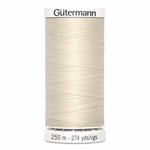 Fil Polyester GÜTERMANN 250m - #22 - Coquille d'oeuf