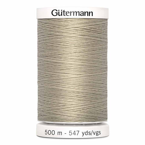 Fil Polyester GÜTERMANN 500m - #506 - Sable