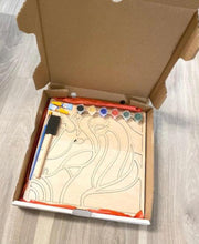 Load image into Gallery viewer, DIY Wood Unicorn Kit