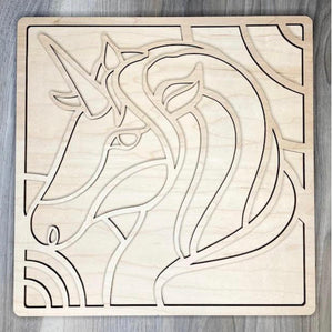 DIY Wood Unicorn Kit