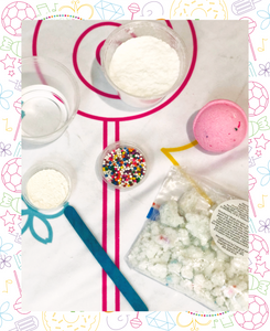 Unicorn Dust Bath Bomb Making Kit