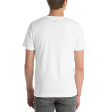 Load image into Gallery viewer, kindness is so gangster White Unisex Short-sleeve T-shirt