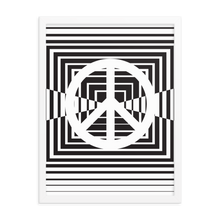 Load image into Gallery viewer, Peace Modern Squares Poster